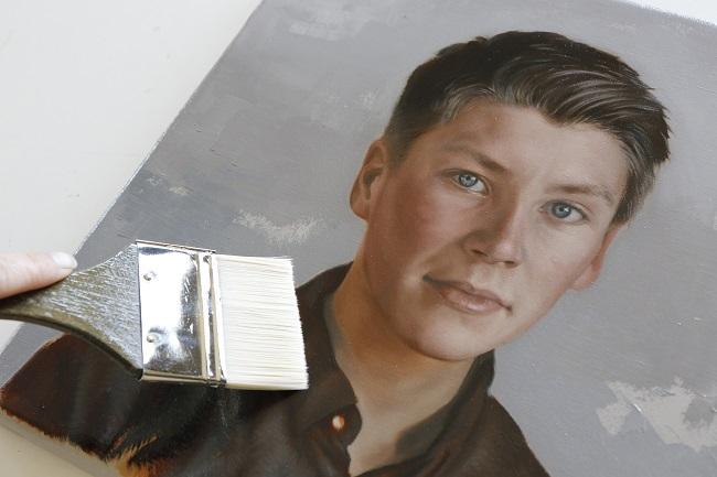 olieverfportret in opdracht - deel 2 - broers portret schilderij - jennifer koning