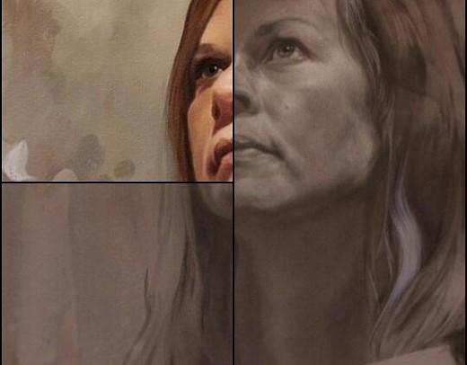 geschilderd vs. getekend portret