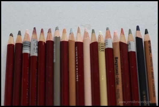 portret kleuren pastel colors portrait