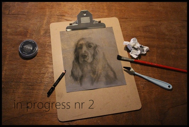 stap2 charcoal drawing in progress