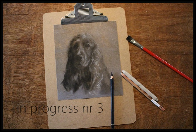 stap3 charcoal drawing in progress