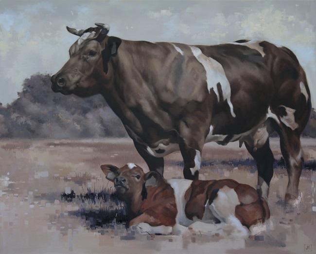 2015-koeienportret-cowportrait-koning-francienenkalf
