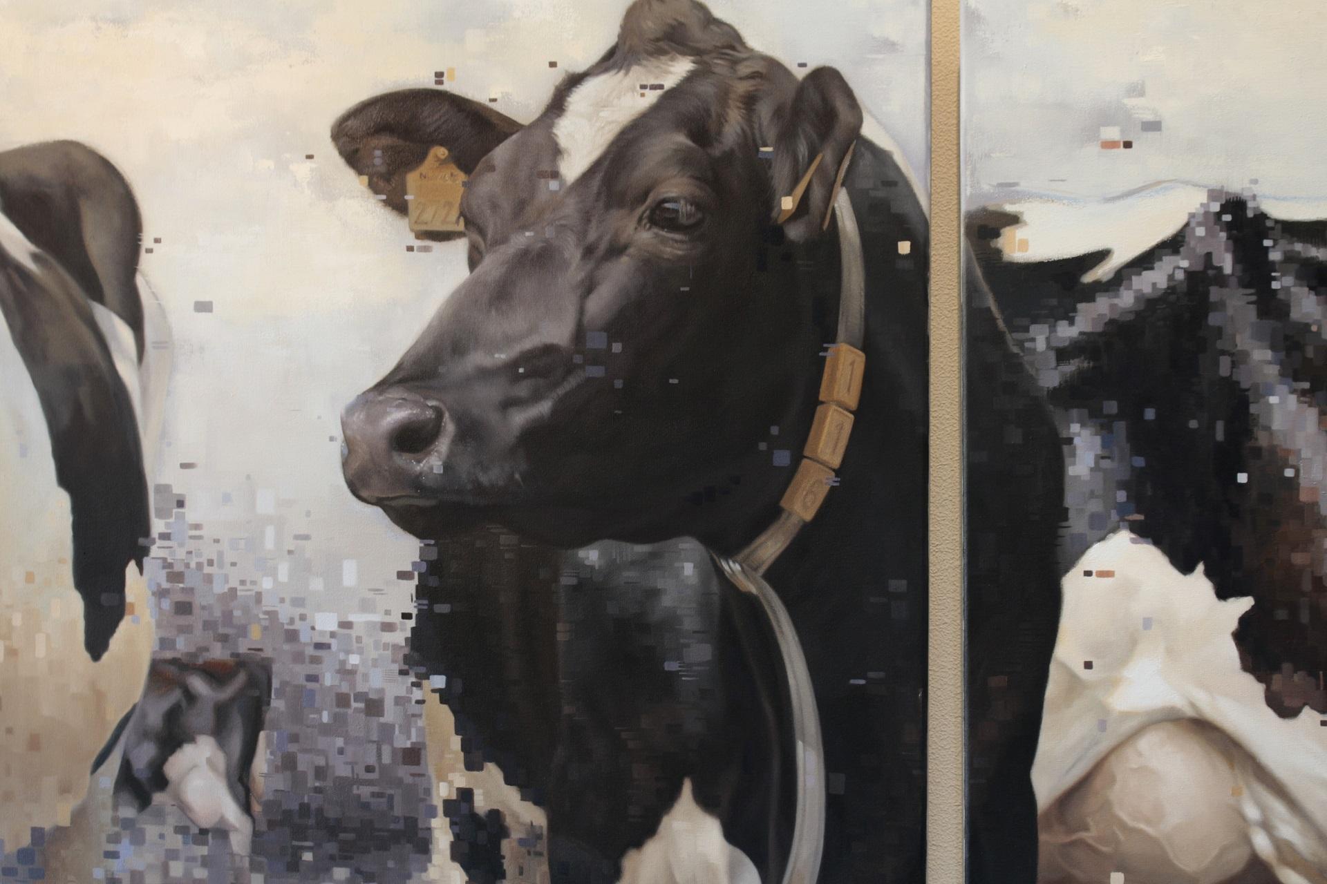 2016- jennifer koning - schilderijen - bijzondere portretten- koeien -missmilk 2 omslag (2)