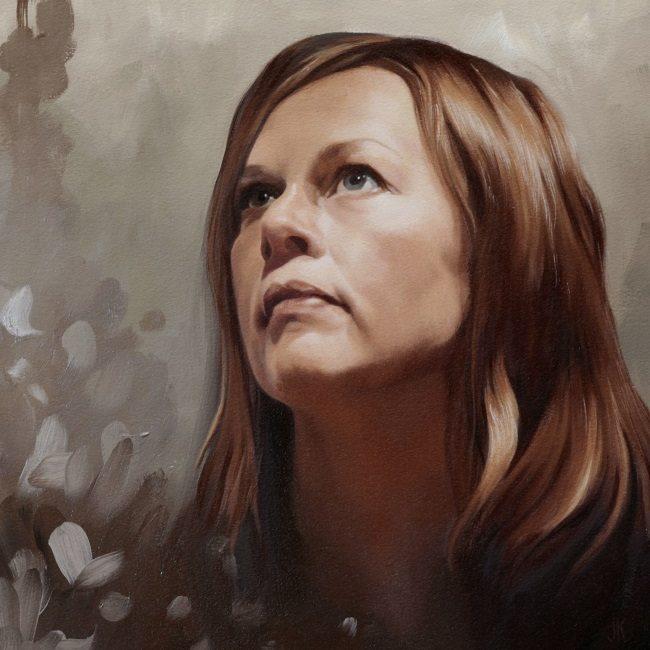 2013-zelfportret olieverf-selfportrait-jennifer koning -nederlandse portretprijs