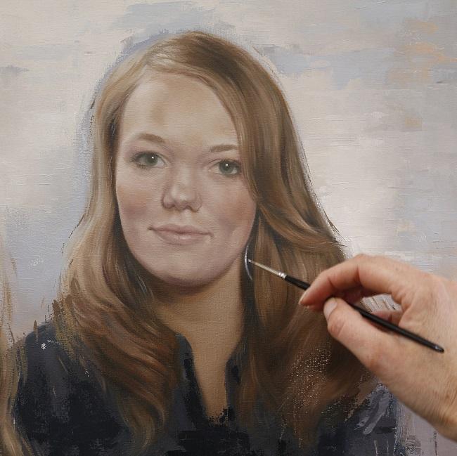 2016-schilderij in uitvoering-jennifer koning - dubbelportret s