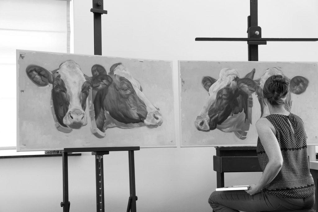 jennifer koning art - bijzondere en karaktervolle portretten - portretschilder - fineart painter