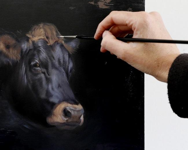 expositie koeien in kerk willemsoord - jubileum maatschappij van weldadigheid - jennifer koning