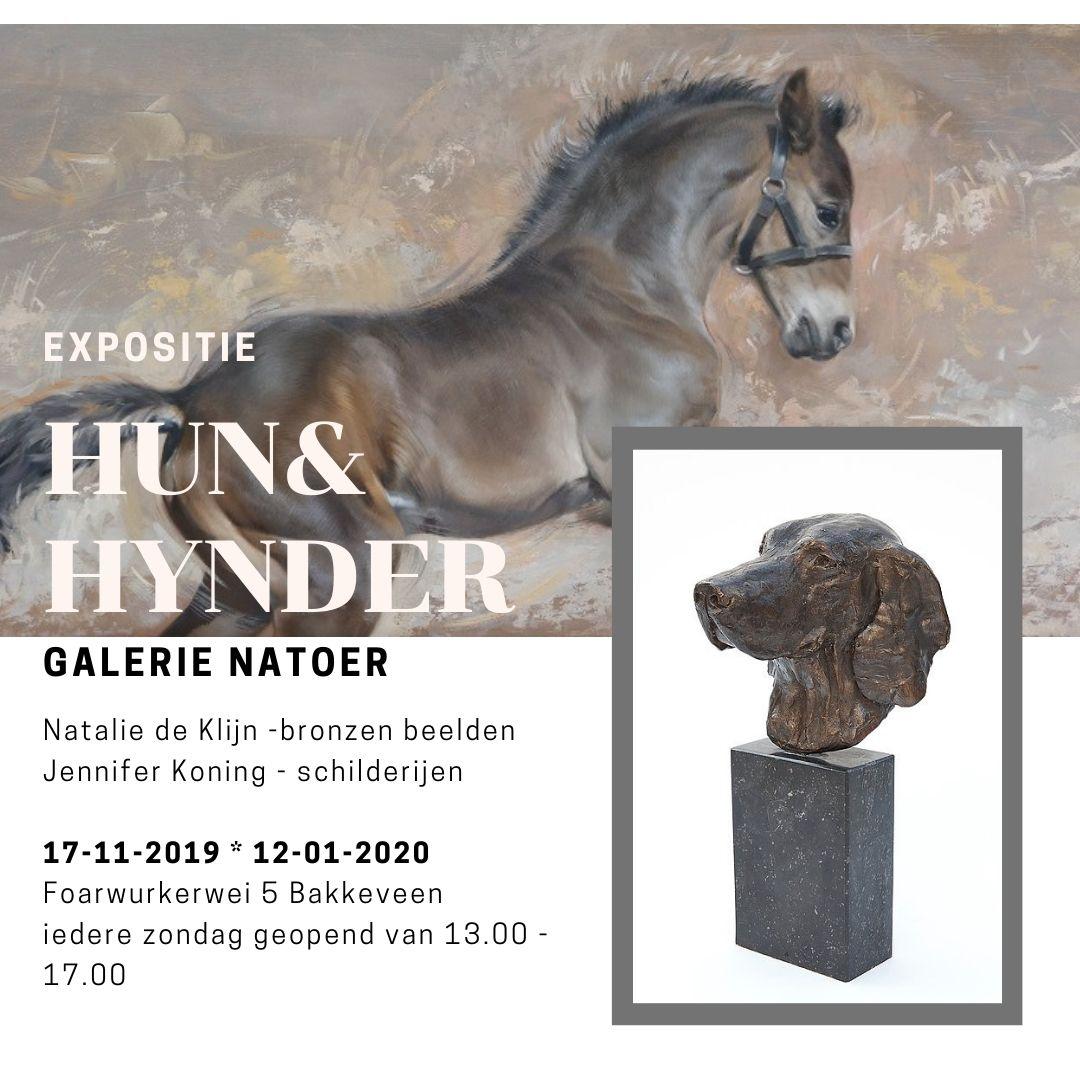 expositie galerie natoer - honden en paardenkunst - jennifer koning