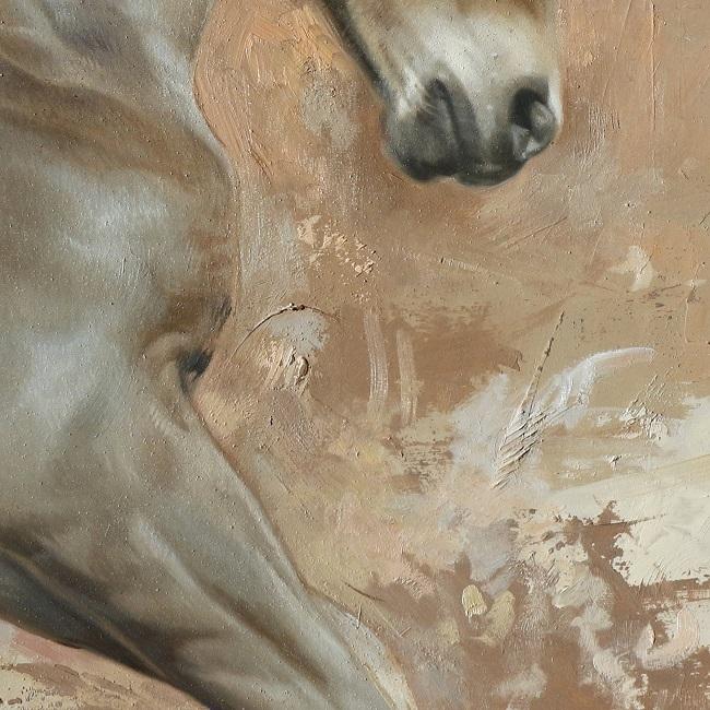 schilderij detail