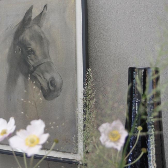 schilderijen beelden van honden paarden -