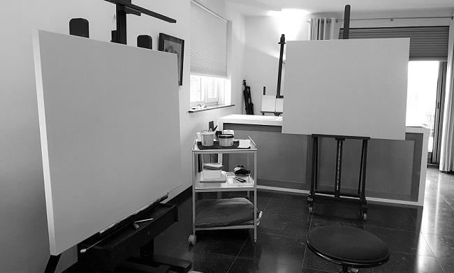 mijn atelier -
