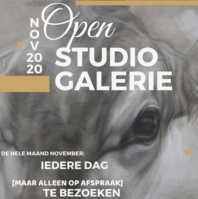 open studio jennifer koning galerie op afspraak expositie koeien schilderijen nov 2020 2 klein