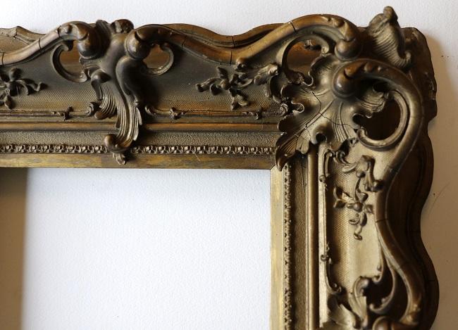 nog een antieke lijst- in brons kleur