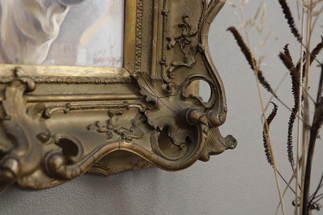 piemontese detail antieke lijst 8